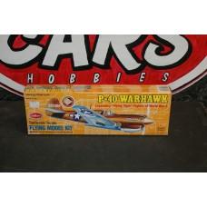 """BALSA P-40 WARHAWK 16"""""""