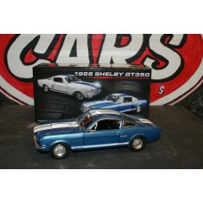 1966 SHELBY MUSTANG GT350 BLUE