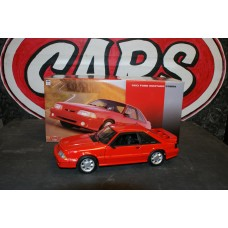 1993 FORD MUSTANG COBRA - RED