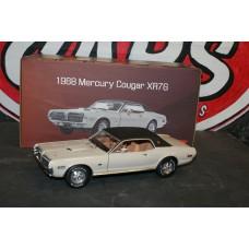 1968 MERCURY COUGAR XR7G - FAWN