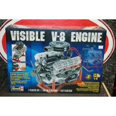 VISIBLE V8 ENGINE