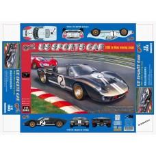 1/12 US SPORTS CAR ( 1966 GT40 LAMANS )