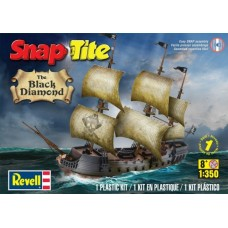 THE BLACK DIAMOND SNAP PIRATE SHIP