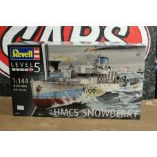 HMCS SNOWBERRY FLOWER CLASS CORVETTE