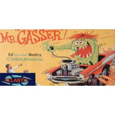 Ed Big Daddy Roth Mr. Gasser Car w/Monster Figure (formerly Revell)