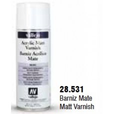 FLAT CLEAR VARNISH SPRAY CAN 400ML
