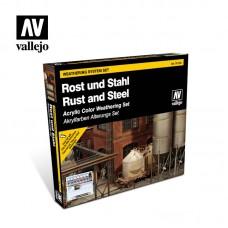 RUST STEEL EFFECTS SET 9PC