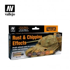 RUST CHIPPING EFFECTS SET 8PC