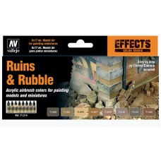 RUINS AND RUBBLE SET 8PC