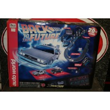 BACK TO THE FUTURE SLOT CAR SET