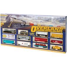 HO OVERLAND LIMITED TRAIN SET