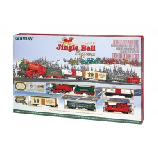 JINGLE BELL EXPRESS HO TRAIN SET