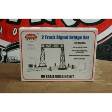 2 TRACK SIGNAL BRIDGE SET